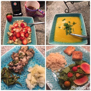 Meals for a day