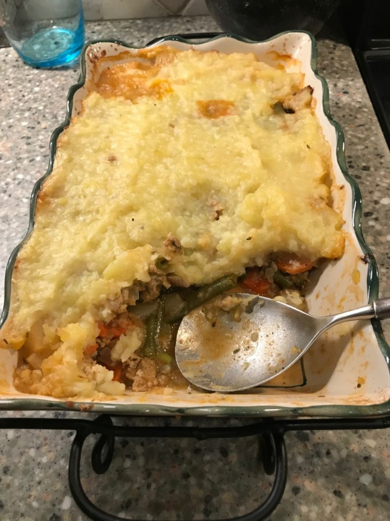 Healthy Sheperd's Pie
