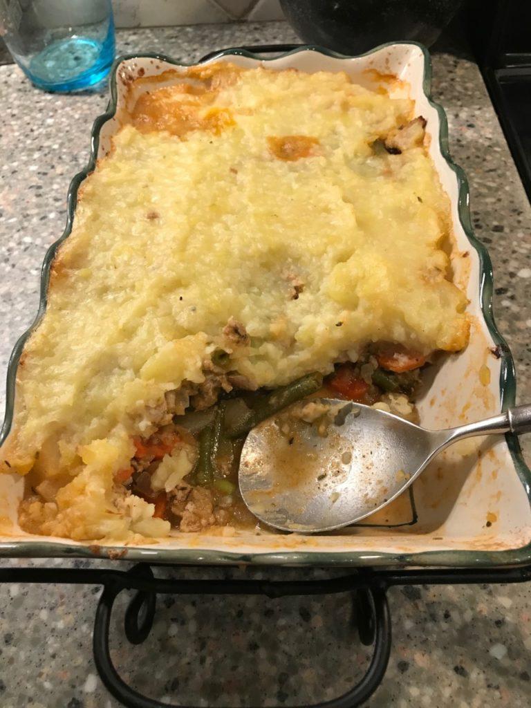 Healthy Sheperd's Pie